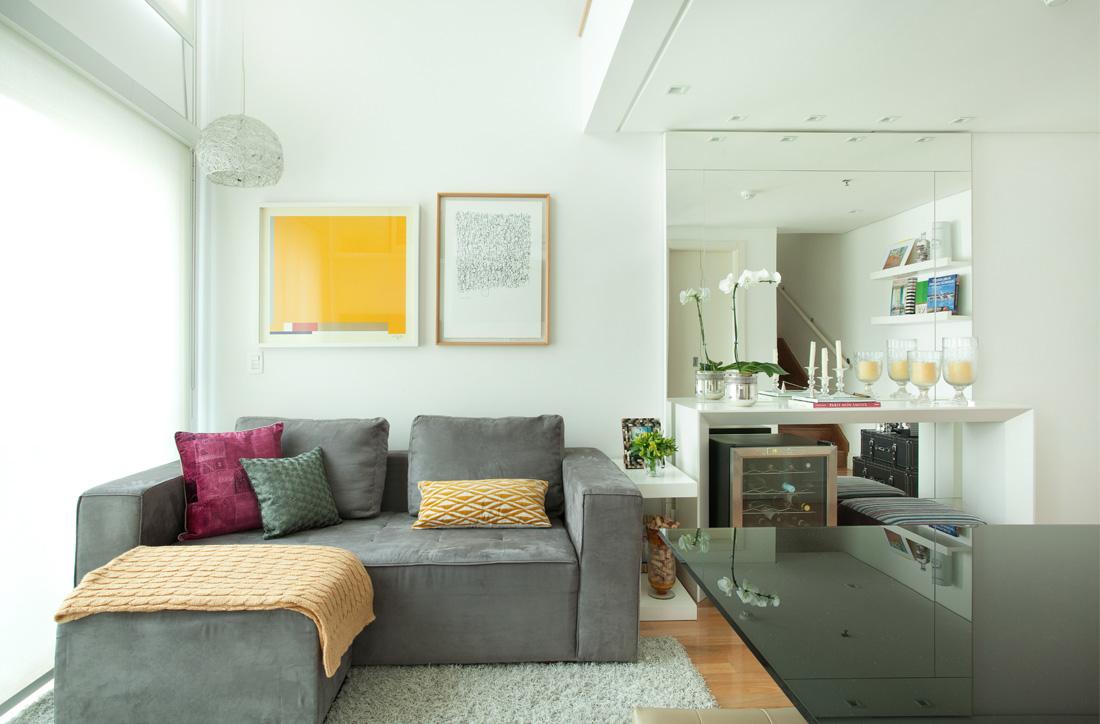 Decoração de loft duplex