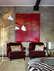 vermelho na decoração